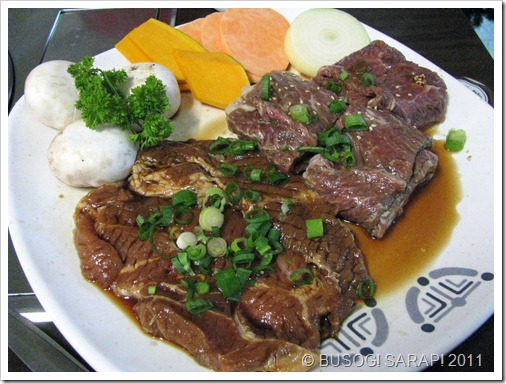 MARU MARINATED PORK ANDMARINATED BEEF BBQ© BUSOG! SARAP! 2011