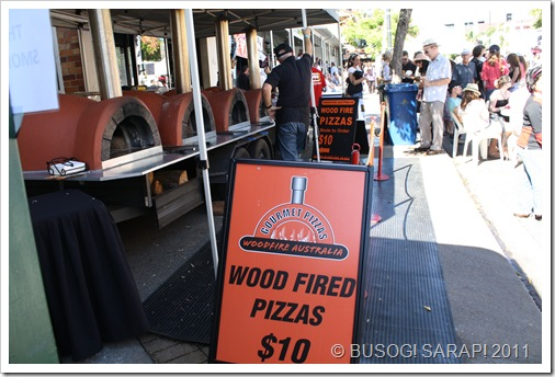 WOOD FIRED PIZZAS© BUSOG! SARAP! 2011