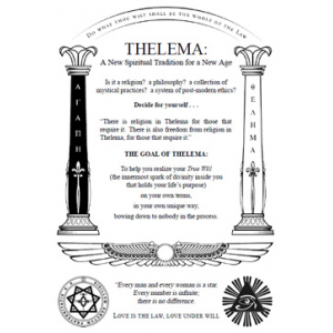 Thelema A New Spiritual Tradition For A New Age Cover