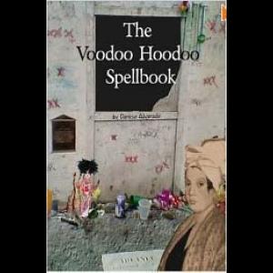 The Voodoo Hoodoo Spellbook Cover