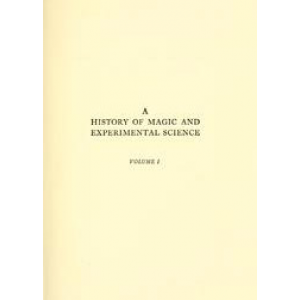 A History Of Magic And Experimental Science Cover