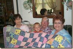Granny's quilt 006