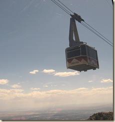 Sandia Tram Passing