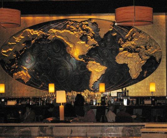 Hotel Bar backdrop
