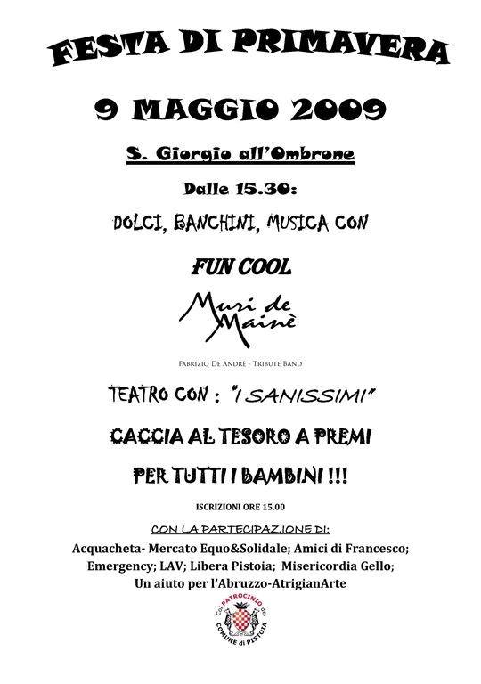9 MAGGIO 2009(bozza)