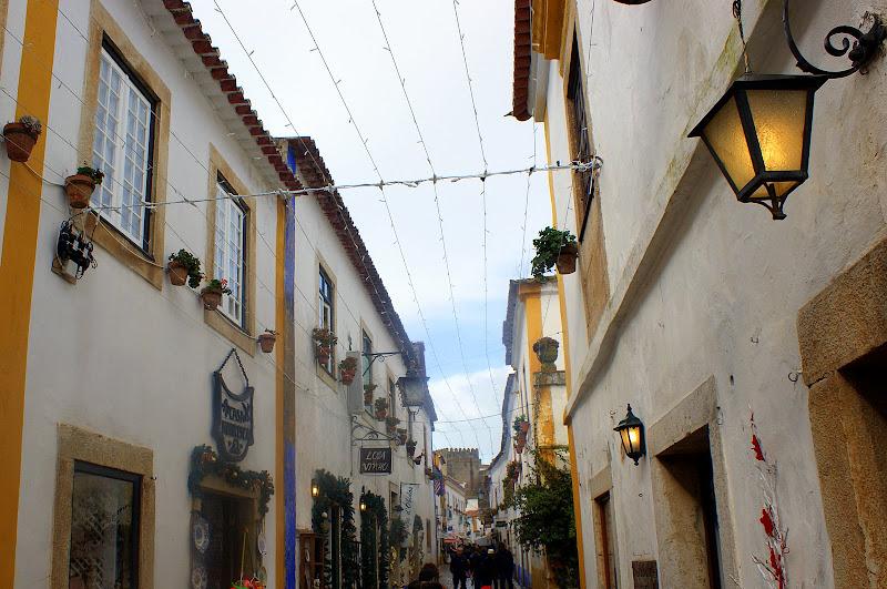 Dia de chuva en Óbidos
