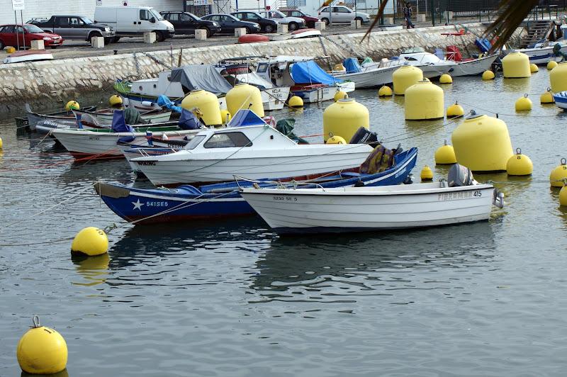 Barcos em Setúbal
