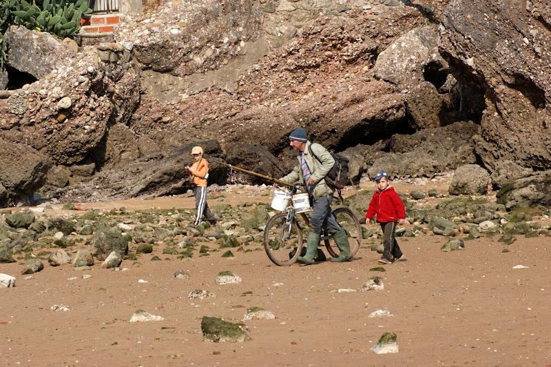 à pesca de bicicleta, Comenda