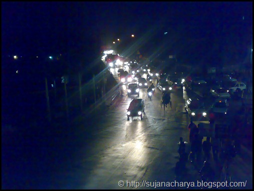 Kathmandu Road Night
