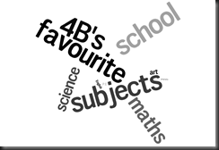 Favourite school subjects