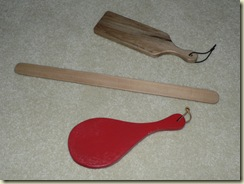 paddles ours