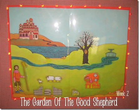Garden of the Good Shepherd Week 2