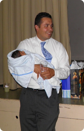 dad and g and baptism