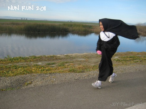 nun run 2011 joy