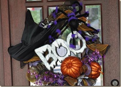 Halloween wreath 019