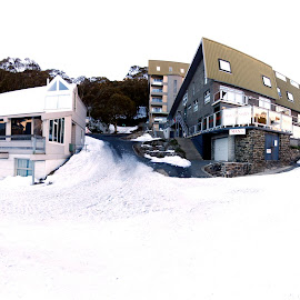 by Riady Santoso - Landscapes Weather ( snow, white, victoria, apartments, falls creek )