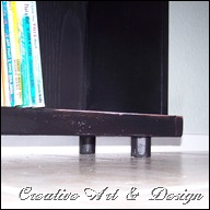 bookcase bench 018