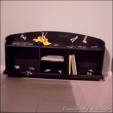 bookcase bench 010