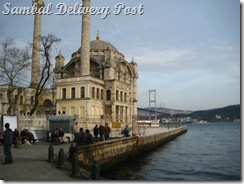 Otokol Church and New Bosphorus Bridge