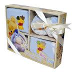 Winnie the Pooh Baby Gift Set - 0374700388B (100% Cotton)