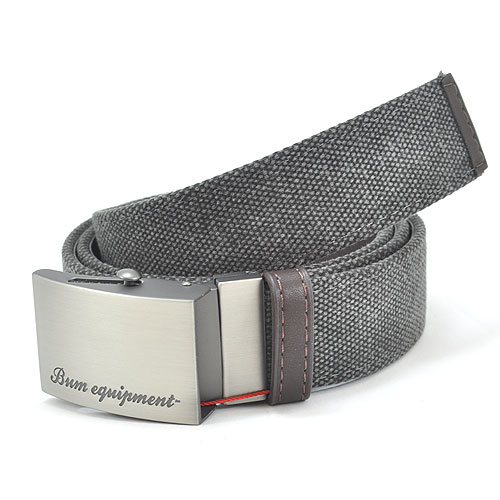 B.U.M. Equipment Canvas Belt - BEB034 (Grey)