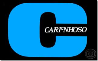 logotipo novela carinhoso