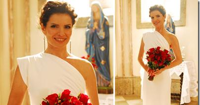 Com seu vestido de noiva silvia cadore volta ao estilo for Renovar votos de casamento