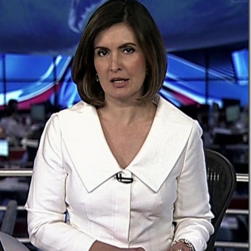 Alguns looks da Fátima Bernardes apresentando o Jornal Nacional