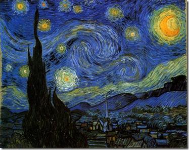 梵谷-星夜