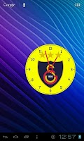 Screenshot of Galatasaray Analog Clock
