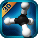 Organic Compounds 2D/3D icon