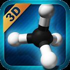 Organic Compounds 2D/3D icon