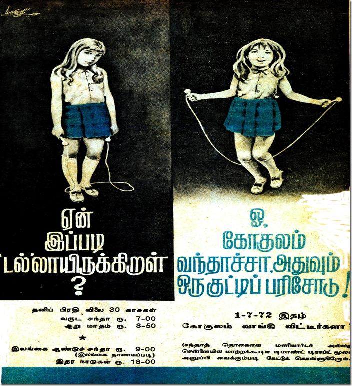 gokulam 1st ad