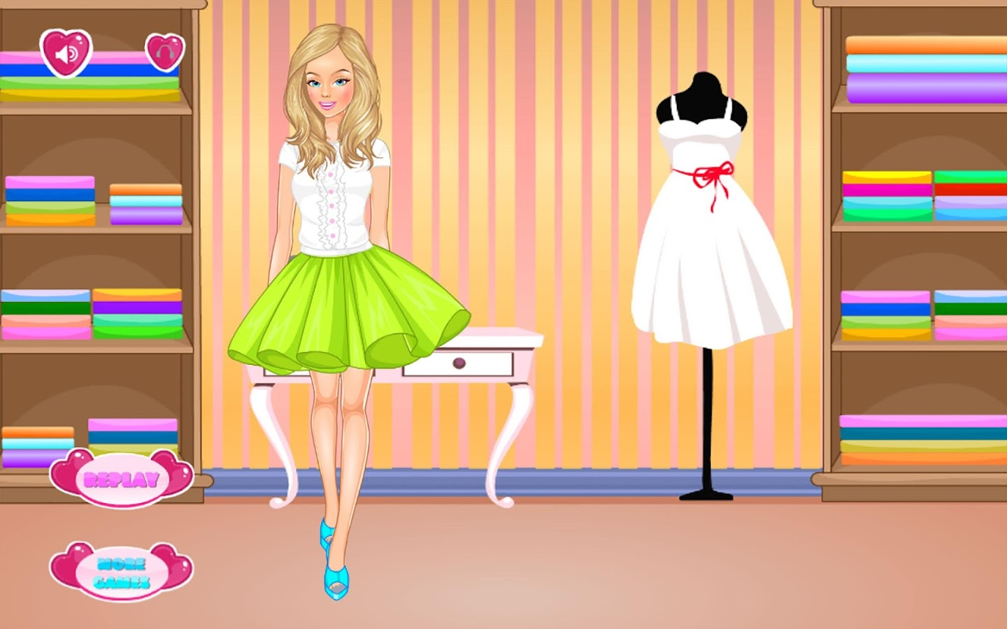 Fashion dress up party 80
