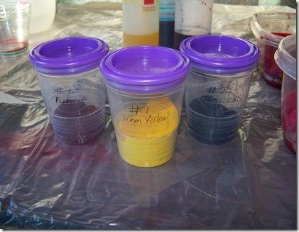 dye powder