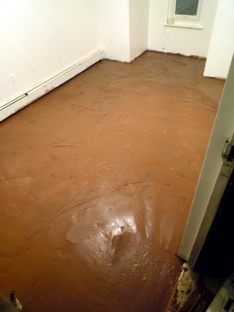 New York Earthen Floor Installation