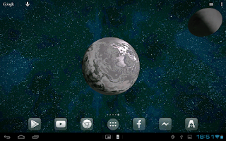 Screenshot of Space 3D HD LWP Free