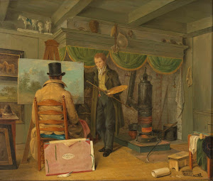 RIJKS: Anthony Oberman: painting 1820