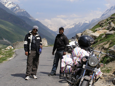 Hydration Break post Rohtang Pass