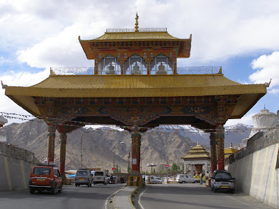 Main gate of Leh