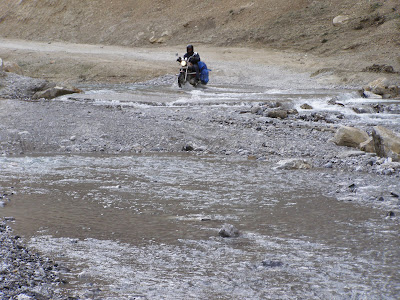 Kangla Jal - The nastiest water crossing on the entire manali - Leh highway