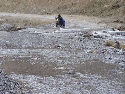 Kangla Jal - The nastiest water crossing on the entire manali - Leh highway