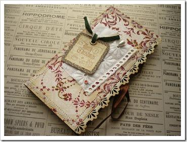 винтажная упаковка шоколадного подарка