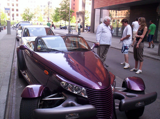 out a Plymouth Prowler at