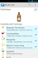 Screenshot of My Cocktail Bar
