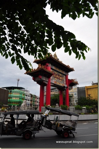 tuktuk in Chinatown