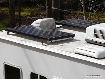 Mounted Solar Panels