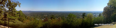 Panoramic view of Hot Springs, AR