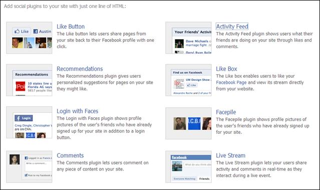 สอนติดตั้ง facebook widget