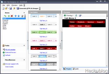 CSS tab menu2